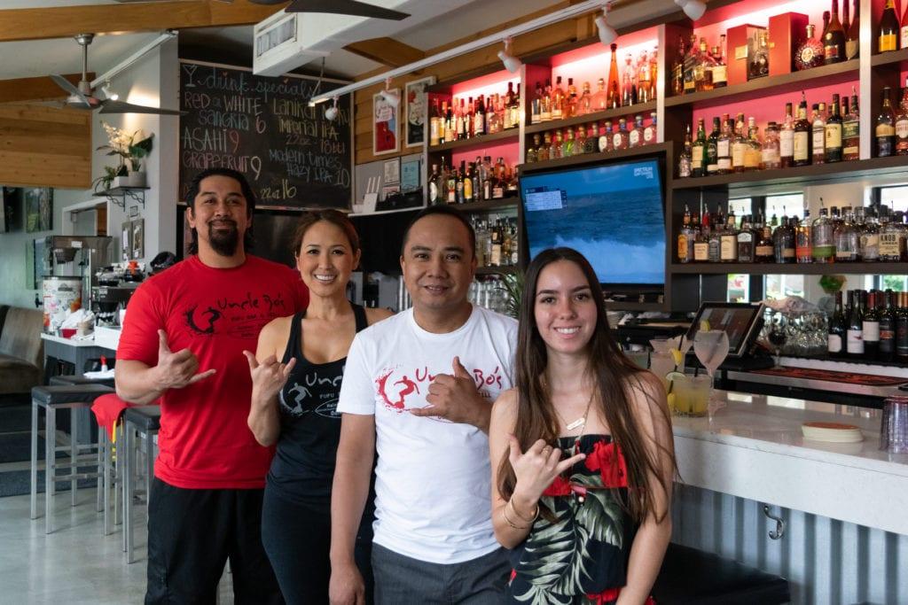Uncle Bo's Haleiwa Staff
