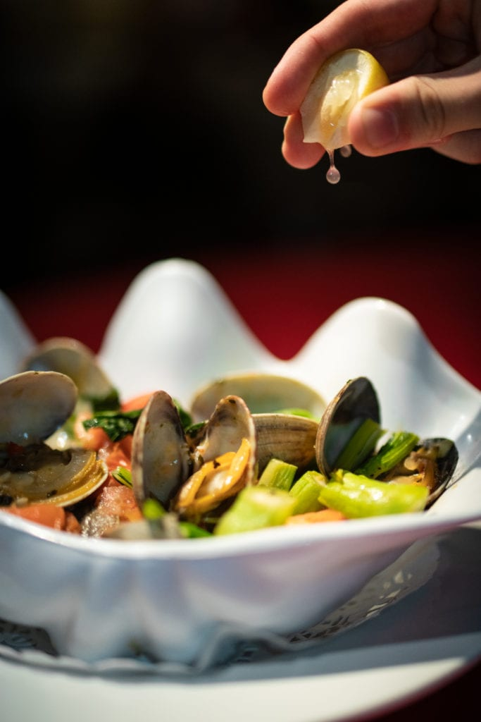 Uncle Bo's Thai-Style Clams (Lemon)